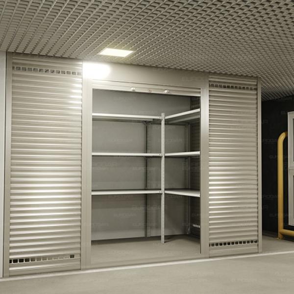 Роллетные шкафы в паркинг