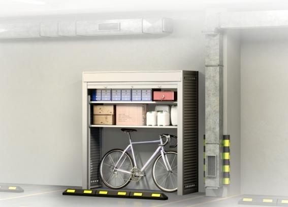 Шкаф на машиноместо КМ 3