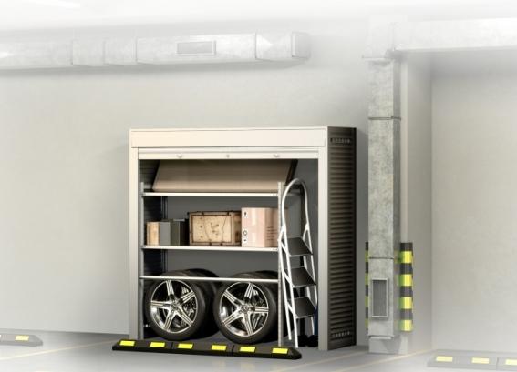 Шкаф на машиноместо КМ 4