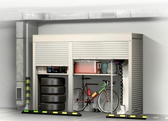 Шкаф в паркинг Премиум - 1