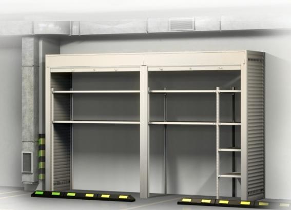Шкаф в паркинг Премиум - 2