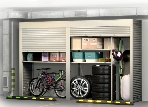 Шкаф на машиноместо Премиум - 3