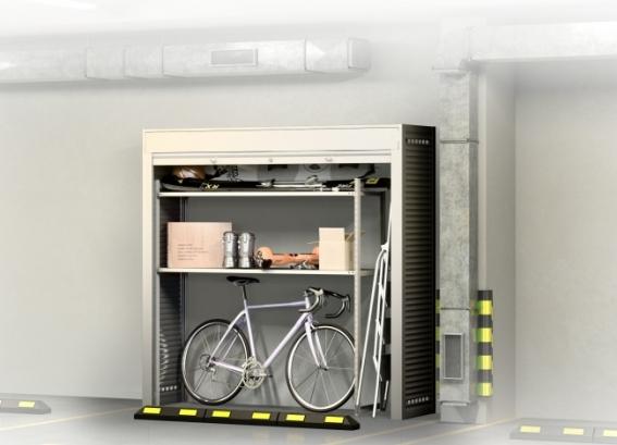 Шкаф в паркинг СТ - 1