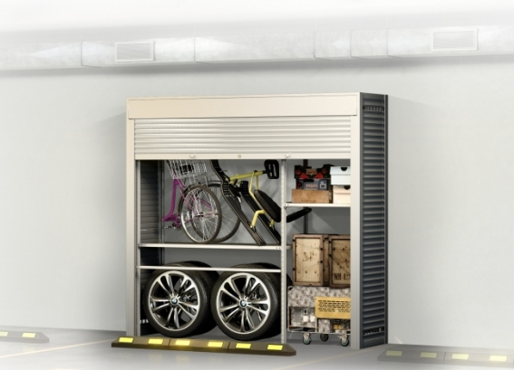 Шкаф на машиноместо СТ - 4