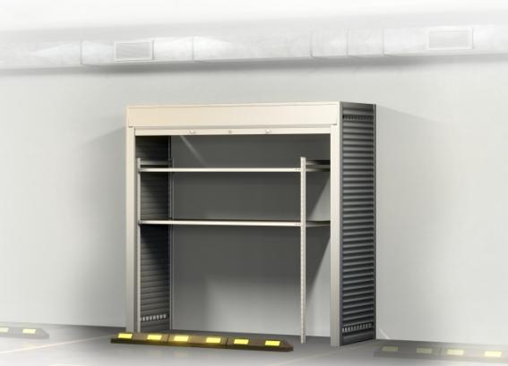Шкаф в паркинг УН - 2