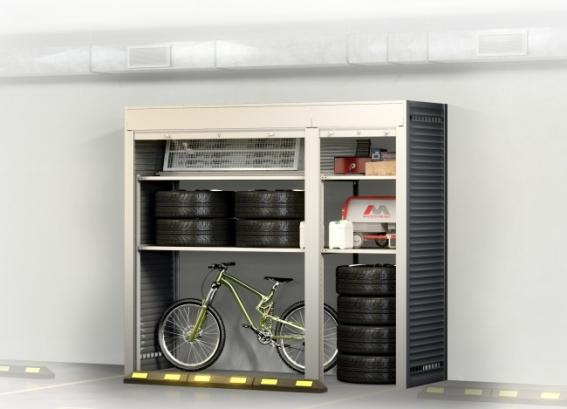 Шкаф на машиноместо УН - 3